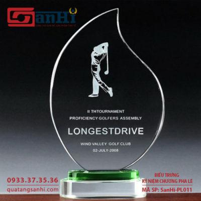 kỷ niệm chương pha lê SanHi-PL011