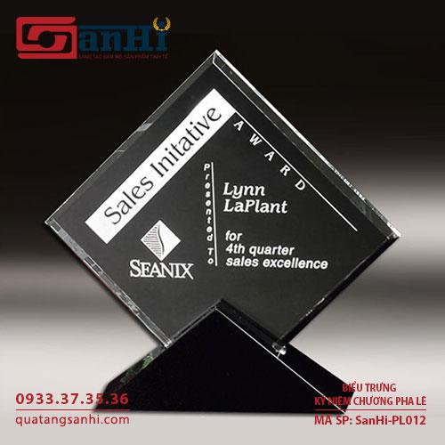 kỷ niệm chương pha lê SanHi-PL012