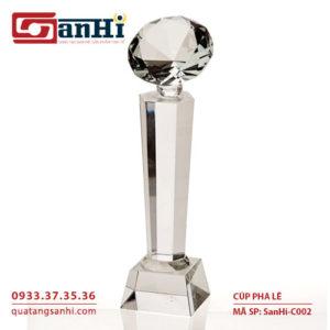 SanHi-C002 Cúp pha lê