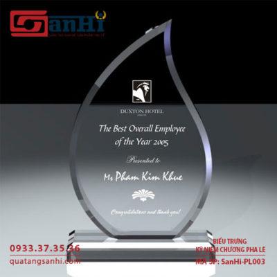 SanHi-PL003 kỷ niệm chương pha lê
