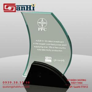 Kỷ niệm chương thuỷ tinh SanHi-TT012