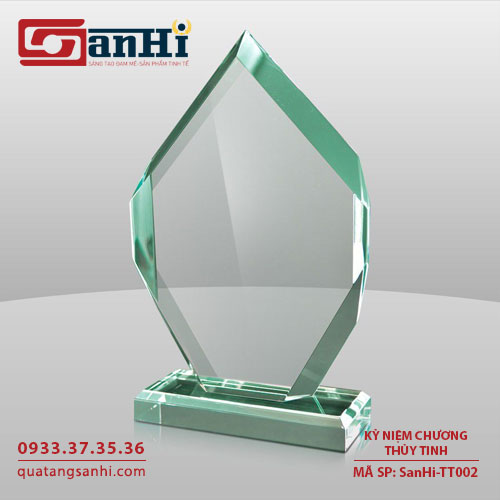 Kỷ niệm chương thuỷ tinh SanHi-TT002