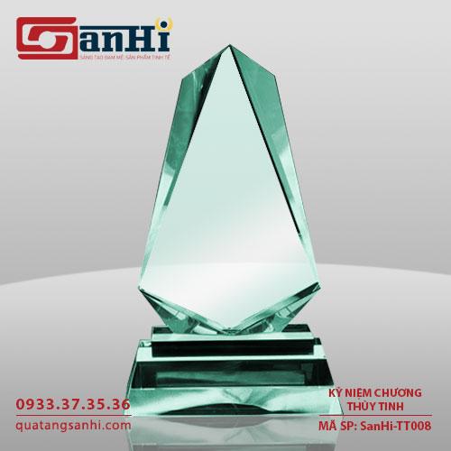 SanHi-TT008 Kỷ niệm chương thuỷ tinh