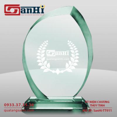 SanHi-TT011 Kỷ niệm chương thuỷ tinh