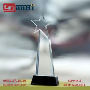 SanHi-C014 Cúp pha lê