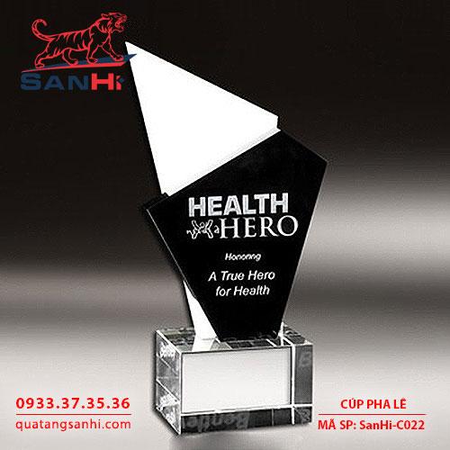 Cúp pha lê SanHi-C022