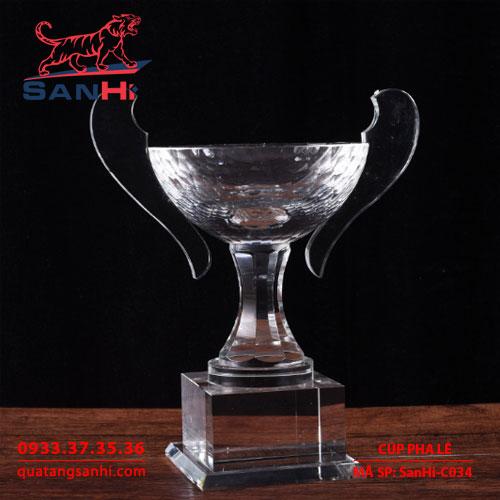 Cúp Pha Lê SanHi-C034