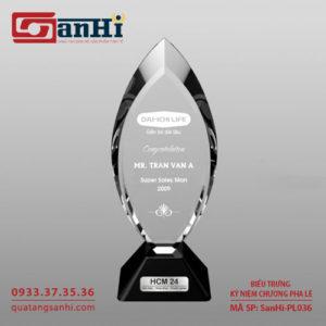 Kỷ niệm chương pha lê SanHi-PL036