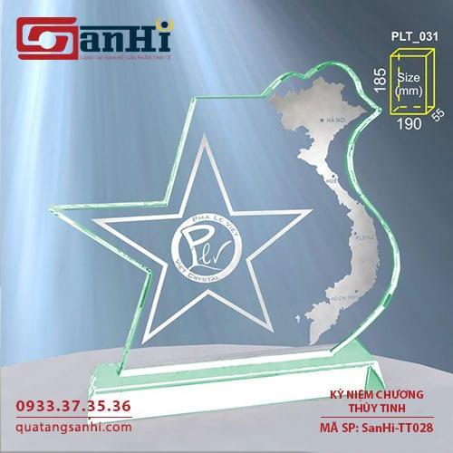 Kỷ niệm chương thuỷ tinhSanHi-TT028