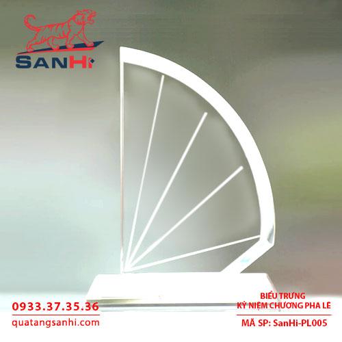 Kỷ niệm chương pha lê cao cấp SanHi-PL005