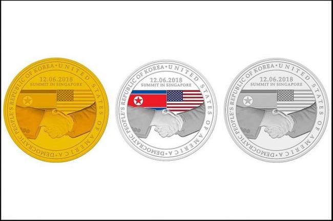 Bộ ba huy chương, kỷ niệm chương, hội nghị thượng đỉnh mỹ triều