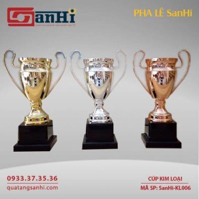 Cúp Kim Loại SanHi-KL006