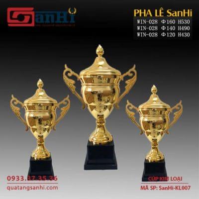 Cúp Kim Loại SanHi-KL007