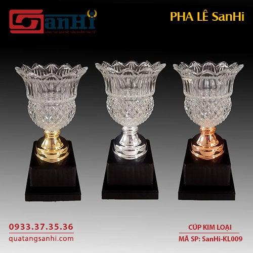Cúp Kim Loại SanHi-KL009