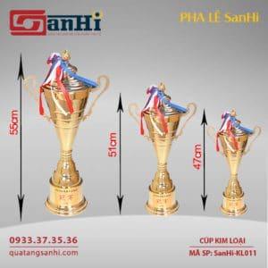 Cúp Kim Loại SanHi-KL011