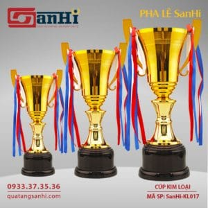 Cúp Kim Loại SanHi-KL017
