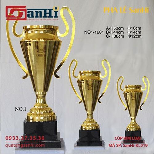 Cúp Kim Loại SanHi-KL019