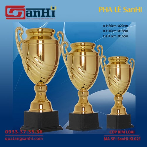Cúp Kim Loại SanHi-KL021