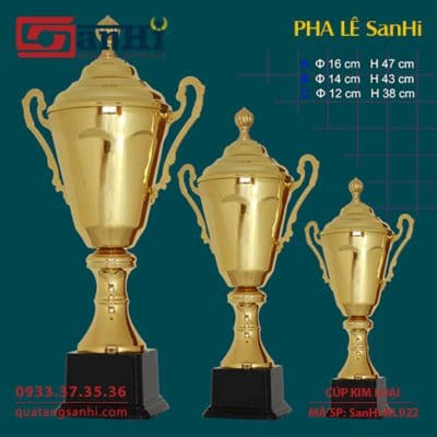 Cúp Kim Loại SanHi-KL022
