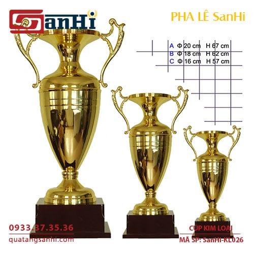 Cúp Kim Loại SanHi-KL026