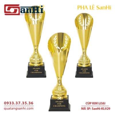 Cúp Kim Loại SanHi-KL029