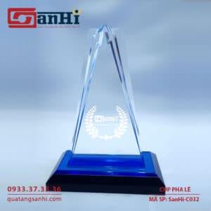 cúp pha lê SanHi-C032