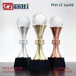 Cúp Pha Lê SanHi-C033
