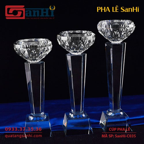 Cúp Pha Lê SanHi-C035