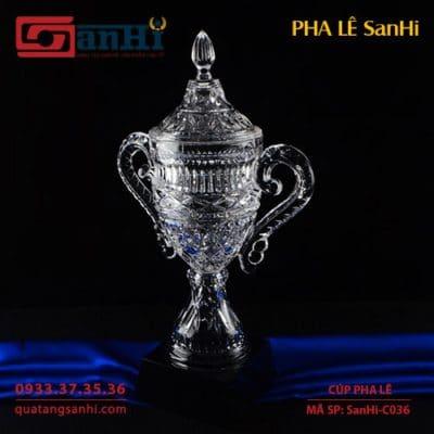 Cúp Pha Lê SanHi-C036
