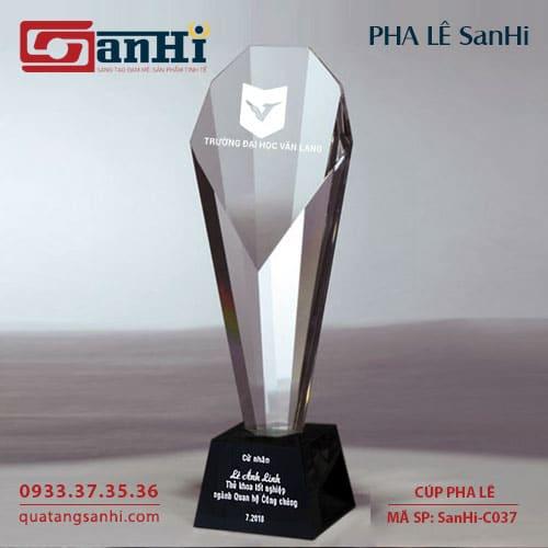 Cúp Pha Lê SanHi-C037