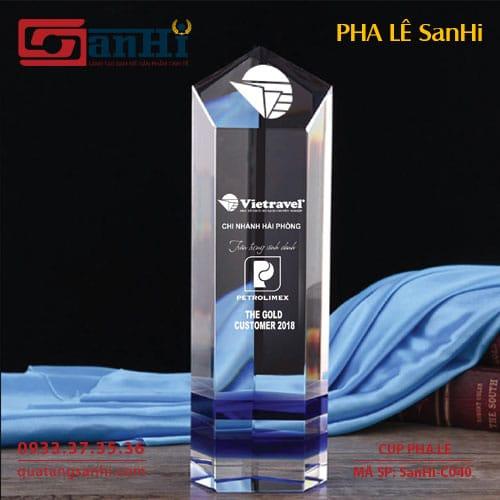 Cúp Pha Lê SanHi-C040