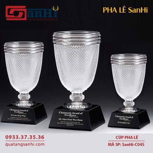 Cúp Pha Lê SanHi-C045