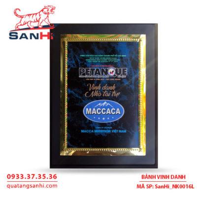 Bảng Vinh Danh Đồng Italia SanHi-NK016I