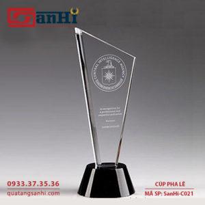 Cúp pha lê SanHi-C021