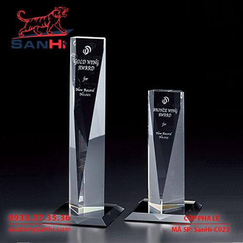 SanHi-C023 Cúp pha lê