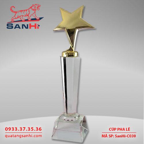 Cúp pha lê Sanhi C030