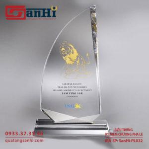 Kỷ niệm chương pha lê SanHi-PL032