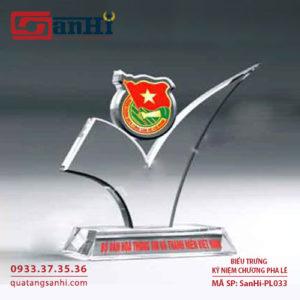 Kỷ niệm chương pha lê SanHi-PL033