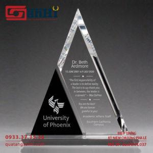 Kỷ niệm chương pha lê SanHi-PL037