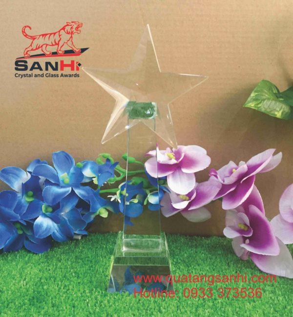Cúp Pha Lê Ngôi Sao SanHi-C004