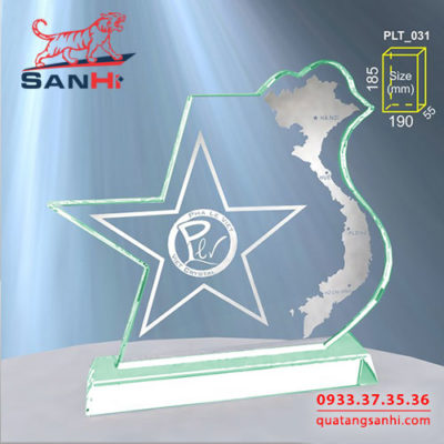 Kỷ Niệm Chương Thuỷ Tinh SanHi-TT014