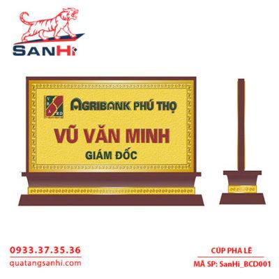 Bảng Chức Danh SanHi-BCD001