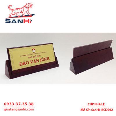 Bang Chuc Danh SanHi BCD002