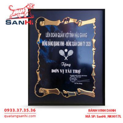 Bảng Vinh Danh Đồng Italia SanHi-NK017I