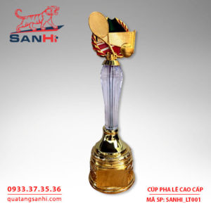 Cúp pha lê biểu tượng SanHi-LT001