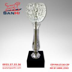 Cúp pha lê chén cao cấp SanHi-LT003